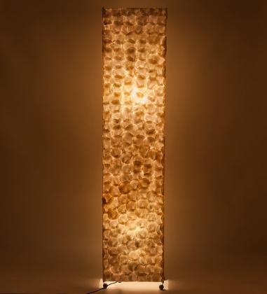 34-037 Светильник из перламутра «Башня» 150см