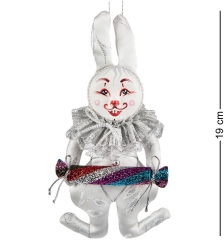 RK-465 Кукла подвесная Кролик с конфетой - Вариант A