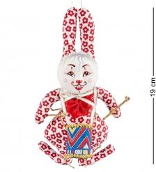 RK-467 Кукла подвесная Кролик с барабаном