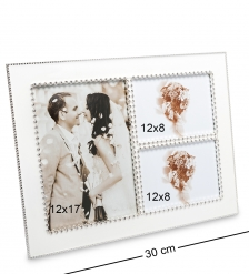 CHK-181 Фоторамка  Мгновения любви   на 3 фото: 12х17, 12х8