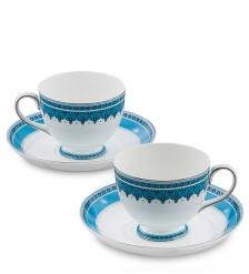 JK-189 Чайный набор на 2 перс.  Византия   Band-E-Rumi Pavone