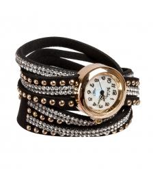 Y-CH028 Браслет-часы  Радуга  черный