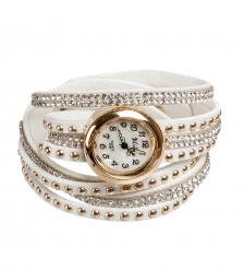Y-CH029 Браслет-часы  Радуга  белый