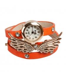 Y-CH035 Браслет-часы  Крылья Ангела  оранж