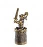 AM- 630 Наперсток  Рыцарь   латунь
