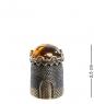 AM- 637 Наперсток  Крепость   латунь, янтарь