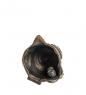 Фотография AM- 647 Фигурка  Колокольчик-улитка   латунь, янтарь №3