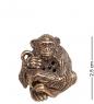AM- 648 Фигурка-шкатулка  Обезьяна   латунь