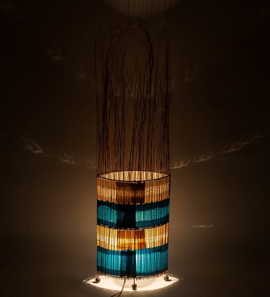 42-010 Светильник сред. «Метеор»  о.Бали