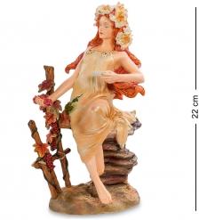 pr-MUC06 Статуэтка Девушка Осень Альфонса Мухи  Museum.Parastone