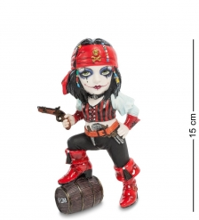 WS-790 Статуэтка в стиле Фэнтези  Маленькая пиратка