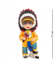 WS-791 Статуэтка в стиле Фэнтези  Вождь индейцев