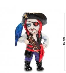 WS-794 Статуэтка в стиле Фэнтези  Капитан пиратов и его попугай