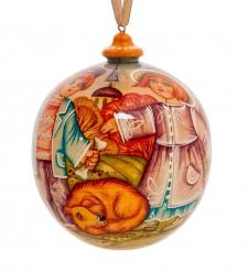 РД-10/ 8 Елочная игрушка «Осень» художественная роспись