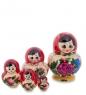 МР-10/ 5 Матрешка 5-кукольная С  Семеновская