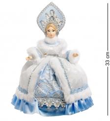 RK-295 Кукла-грелка на чайник  Снегурочка