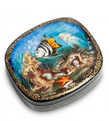 ШК-30/ 5 Шкатулка «Рыбка» 8,5,х7,5 Рыбакова О.