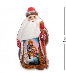 РД-74 Фигурка Дед Мороз  Резной  18см
