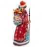 РД-52 Фигурка Дед Мороз с подарками  Резной  31см
