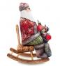 РД-51 Фигурка Дед Мороз с подарками  Резной  26см