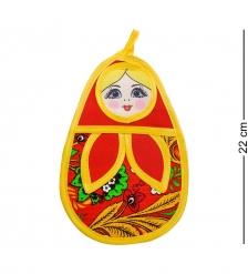 ТК-210 Прихватка «Матрешка» мал. в асс.  красный  - Вариант A