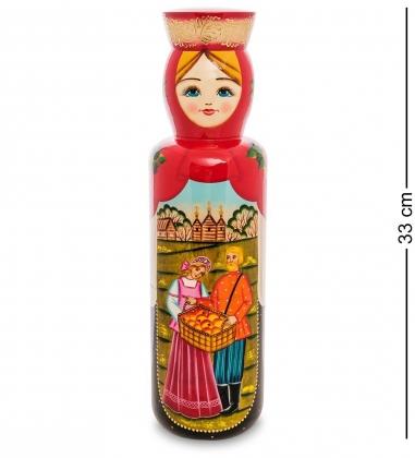 МР-25/ 58 Футляр для бутылки Пара с яблоками
