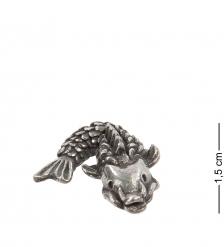 AM- 753 Фигурка кошельковая  Карп   латунь