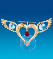 AR-1364 Фигурка на присоске  Сердце Ангела   Юнион
