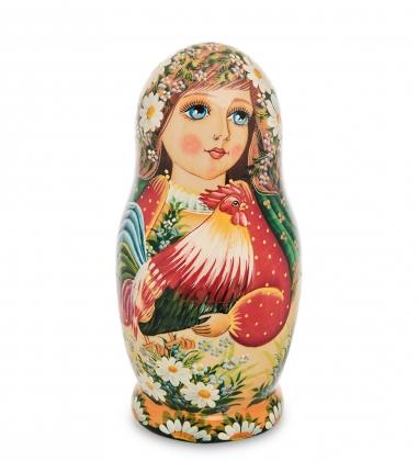 МР-16/ 7 Матрешка 5м «Мария с петухом»