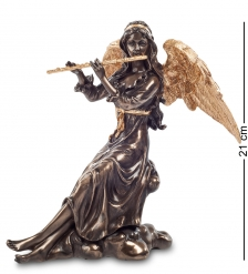 WS-692/ 2 Статуэтка  Ангел, играющий на флейте