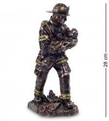 WS-199 Статуэтка  Пожарный Спасатель