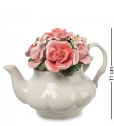 CMS-33/70 Композиция  Чайник с цветами   Pavone