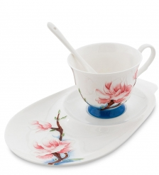 JS-06 Чайная пара  Цветущая сакура   Pavone