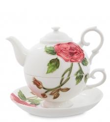 JS-10 Чайный набор  Роза Рафаэлло   Pavone