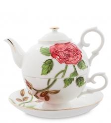 JS-16 Чайный набор  Золотая Роза Рафаэлло   Pavone