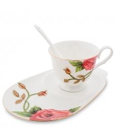 JS-17 Чайная пара  Золотая Роза Рафаэлло   Pavone