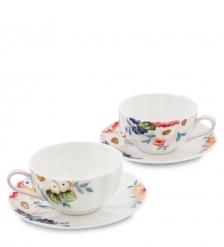 JS-19 Чайный набор на 2 перс.  Королева Камилла   Pavone