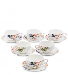 JS-20 Чайный набор на 6 перс.  Королева Камилла   Pavone