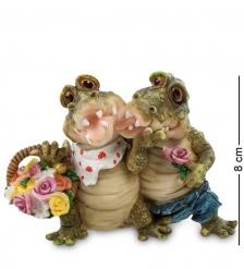 CD-7098-XC Фигура Крокодилы «Романтическое свидание»  Sealmark