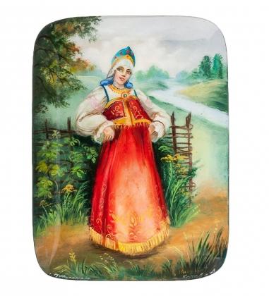 ШК-10/22 Шкатулка «Девица красавица» Котова