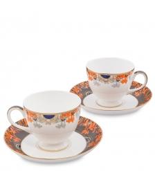 JK-222 Чайный набор на 2 перс. «Риомаджоре»  Riomaggiore Pavone