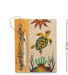 16-072 Блокнот с карандашом  На дне океана  мал.  о.Бали