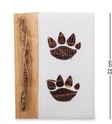 16-079 Блокнот  След тигра  бол.  о.Бали