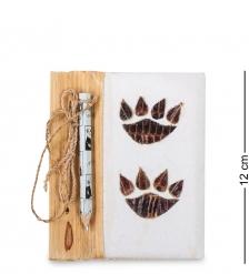 16-081 Блокнот с карандашом  След тигра  мал.  о.Бали