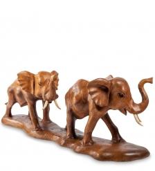 17-078 Статуэтка  Слоны   суар, о.Бали