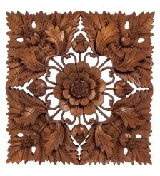 17-053 Панно резное  Цветы   суар, о.Бали