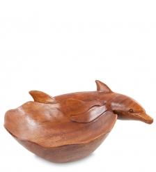 44-026 Блюдо  Дельфин