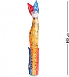 99-262 Статуэтка  Кошка  100 см  албезия, о.Бали