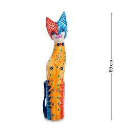 99-264 Статуэтка  Кошка  60 см  албезия, о.Бали