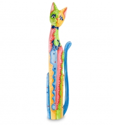 99-276 Статуэтка  Кошка  100 см  албезия, о.Бали